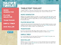 Tabletop Toolkit
